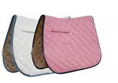 Quilted Cotton Saddle Pad